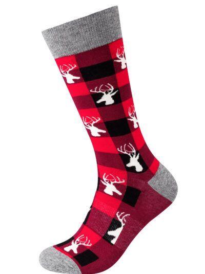 Fun Socks Herrensocken Hirsch Socken