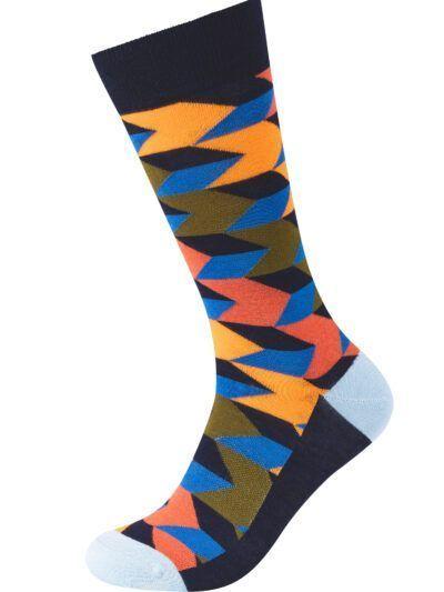 Fun Socks Herren Socken Streifenprint Design