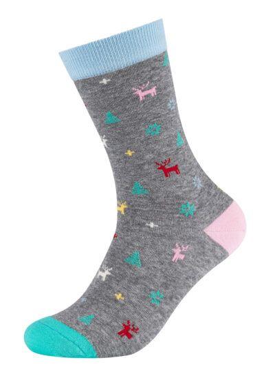 Fun Socks Winter Deer Damen Socken