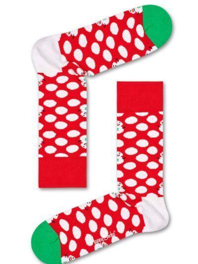 Happy Socks Snowman Big Dot Socken Schneemann