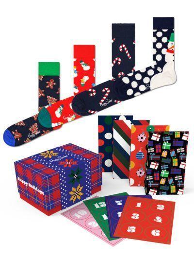 Happy Socks DIY Adventskalender mit Weihnachtssocken