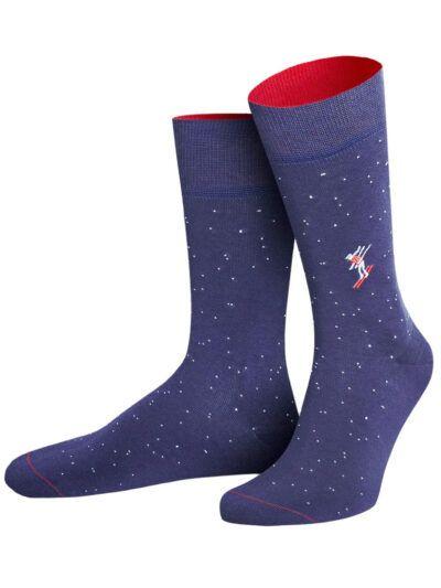 von Jungfeld Skier Icon Socken Skifahrer Bio Baumwolle